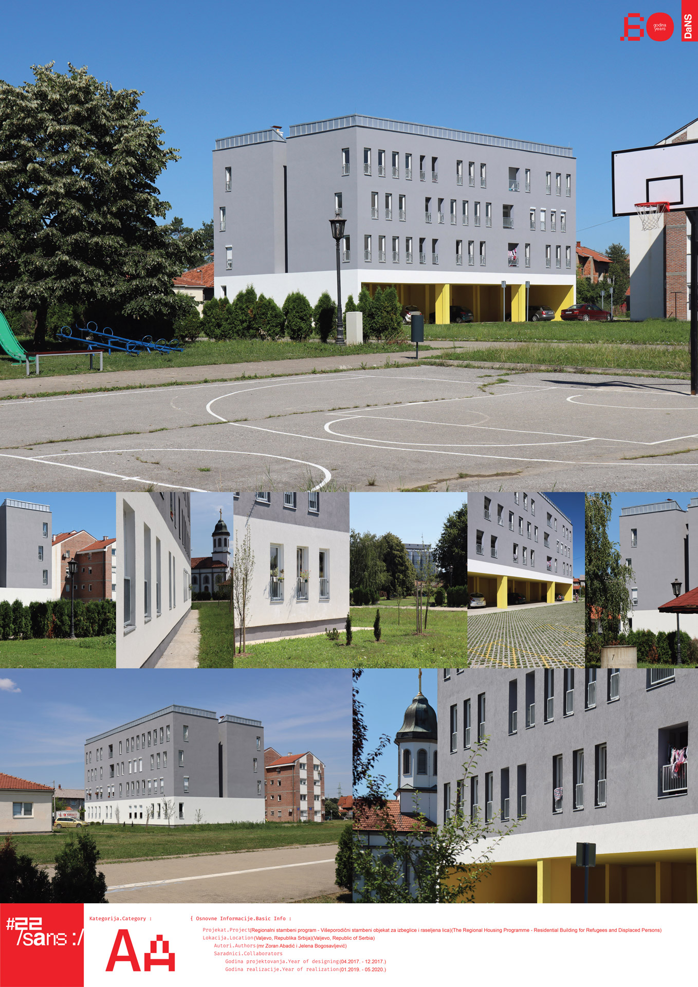 "<p class=""naslov-br"">aa12</p>Višeporodični stambeni objekat za izbeglice i raseljena lica // The Regional Housing Programme – Residental Building for Refugees and Displaced Persons"