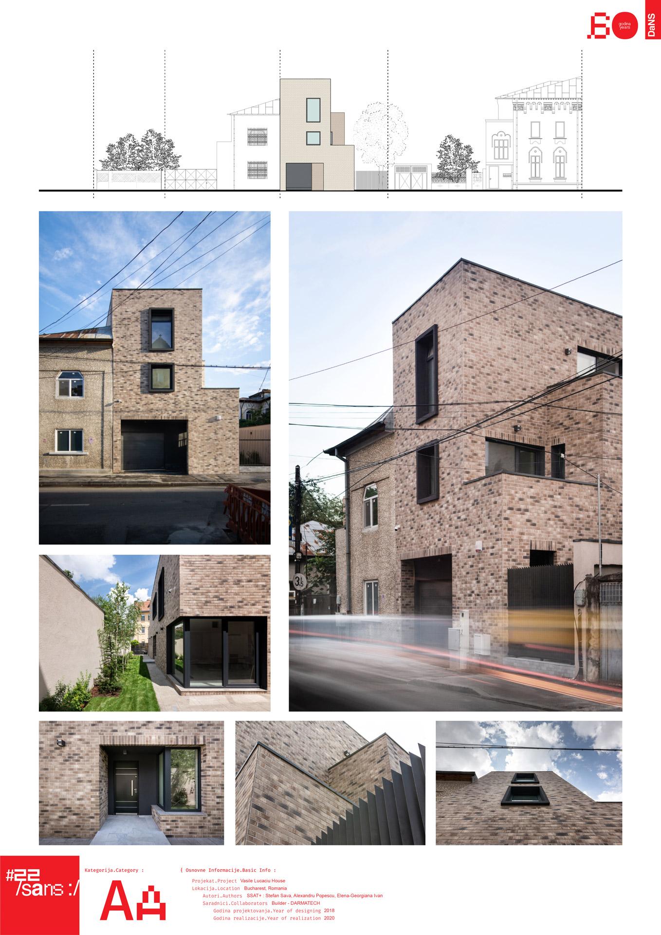 "<p class=""naslov-br"">aa20</p>Urbana kuća / Vasile Lucaciu 112 // Urban House / Vasile Lucaciu 112"