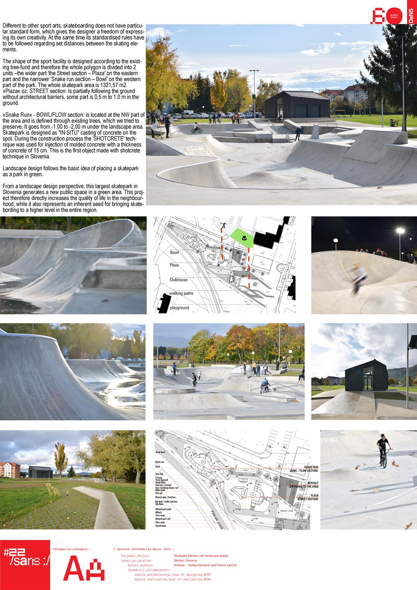 "<p class=""naslov-br"">aa27</p>Skejt park Maribor sa parternim uređenjem // Skatepark Maribor with landscape design"