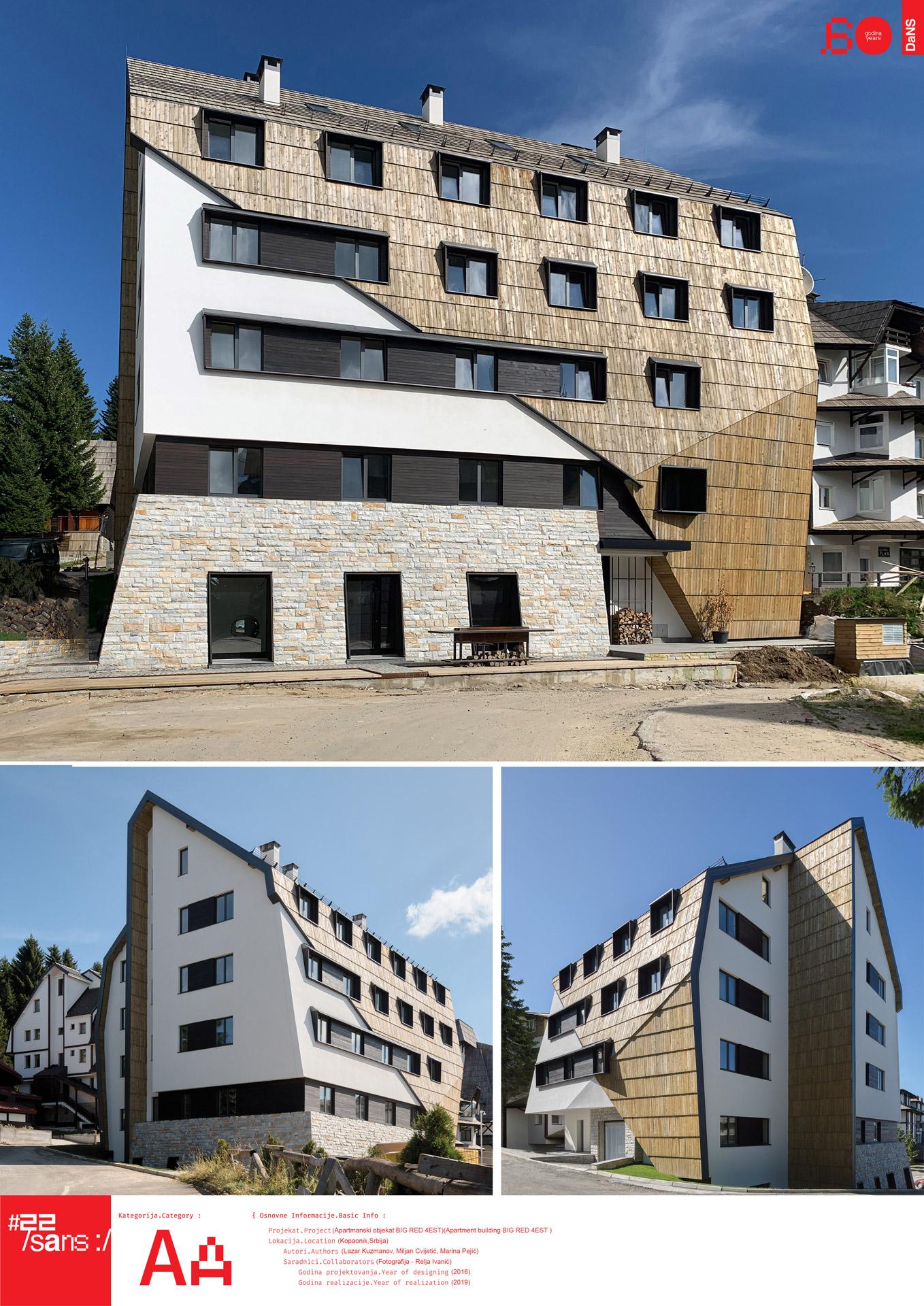 """<p class=""""naslov-br"""">aa32</p>Apartmanska zgrada na Kopaoniku // Kopaonik Apartment Building"""