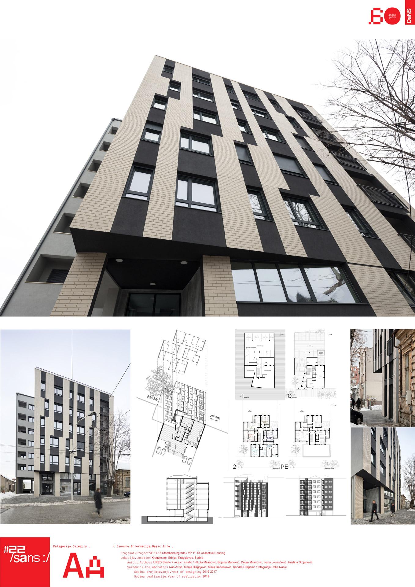 """<p class=""""naslov-br"""">aa40</p>Kolektivno stanovanje VP 11-13 // VP 11-13 Collective housing"""