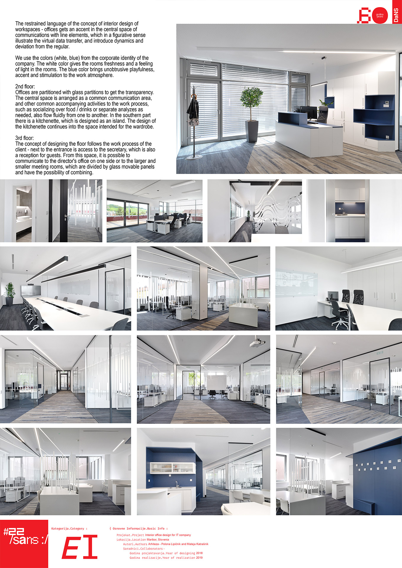 "<p class=""naslov-br"">ei26</p>Enterijer kancelarija IT kompanije // Interior office design for IT company"