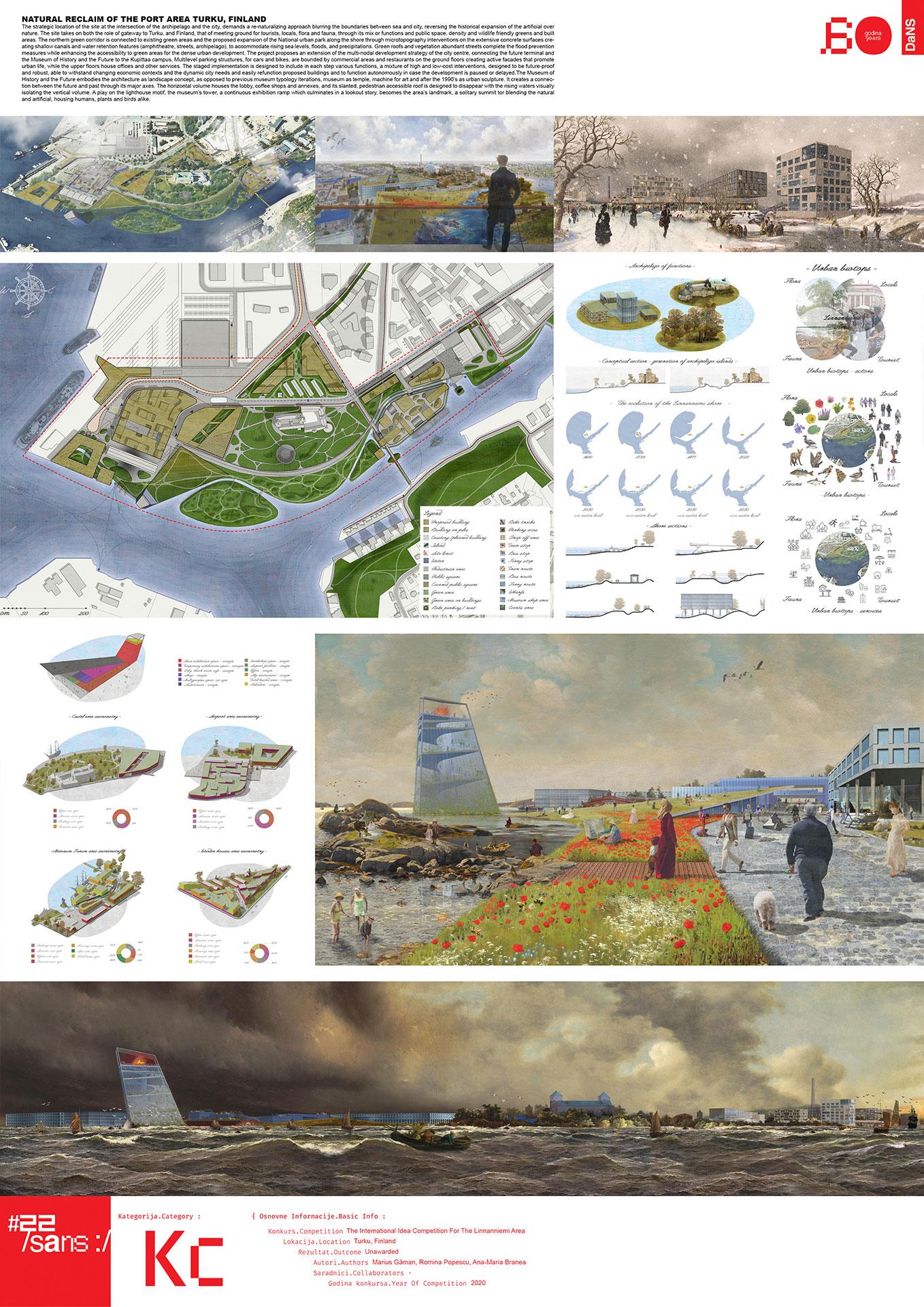 "<p class=""naslov-br"">kc11</p>Prirodni povraćaj lučne oblasti u Turku, Finska // Natural Reclaiming of the Port Area Turku, Finland"
