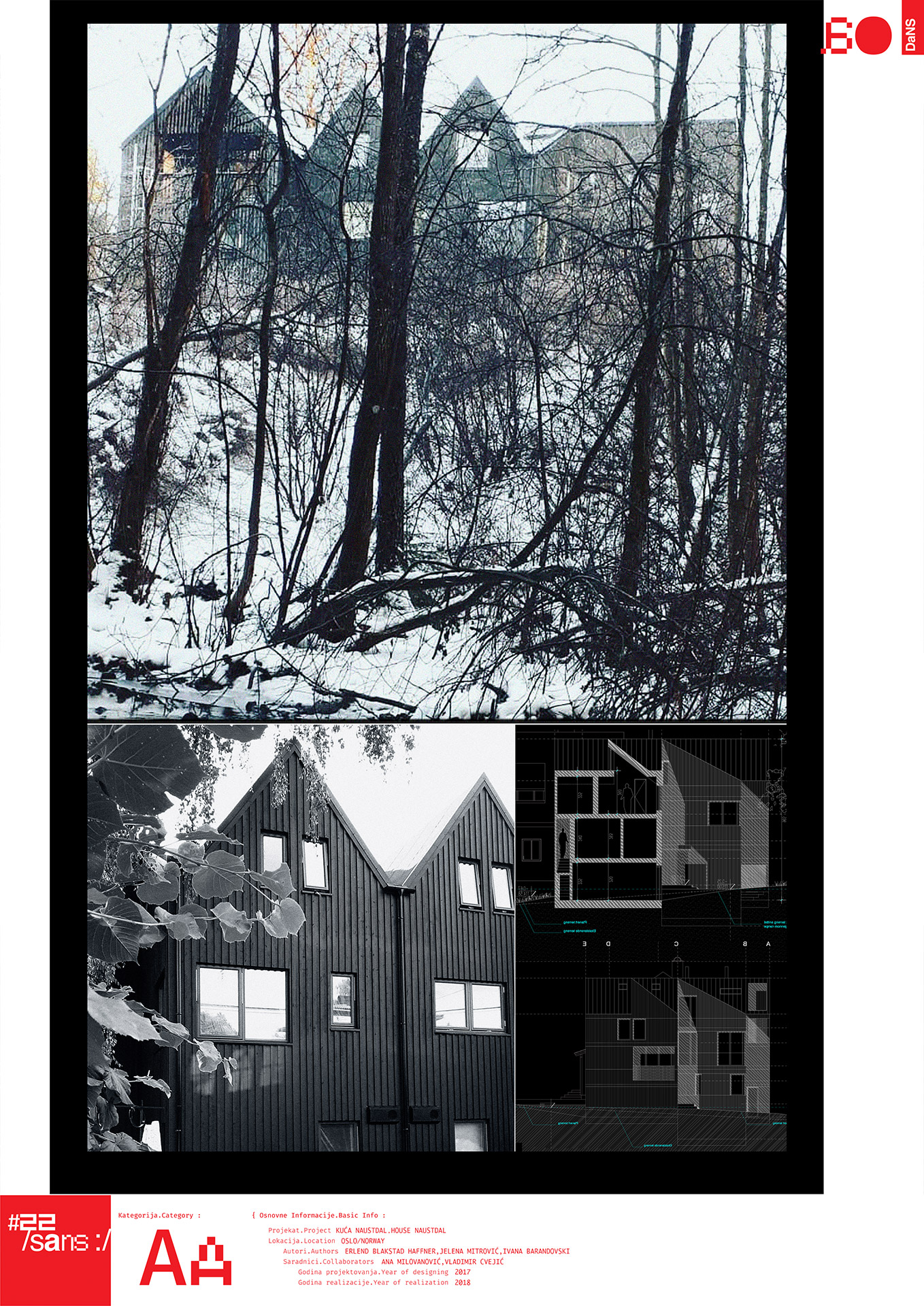 "<p class=""naslov-br"">aa08</p>Kuća Naustdal // Naustdal House"