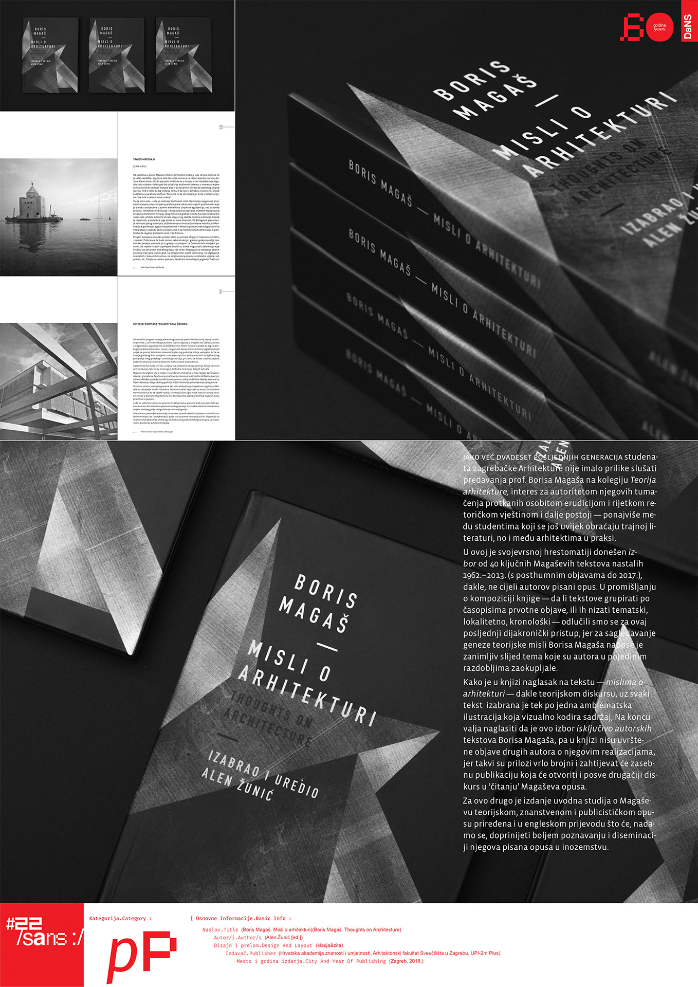 Boris Magaš. Misli o arhitekturi // Thoughts on Architecture