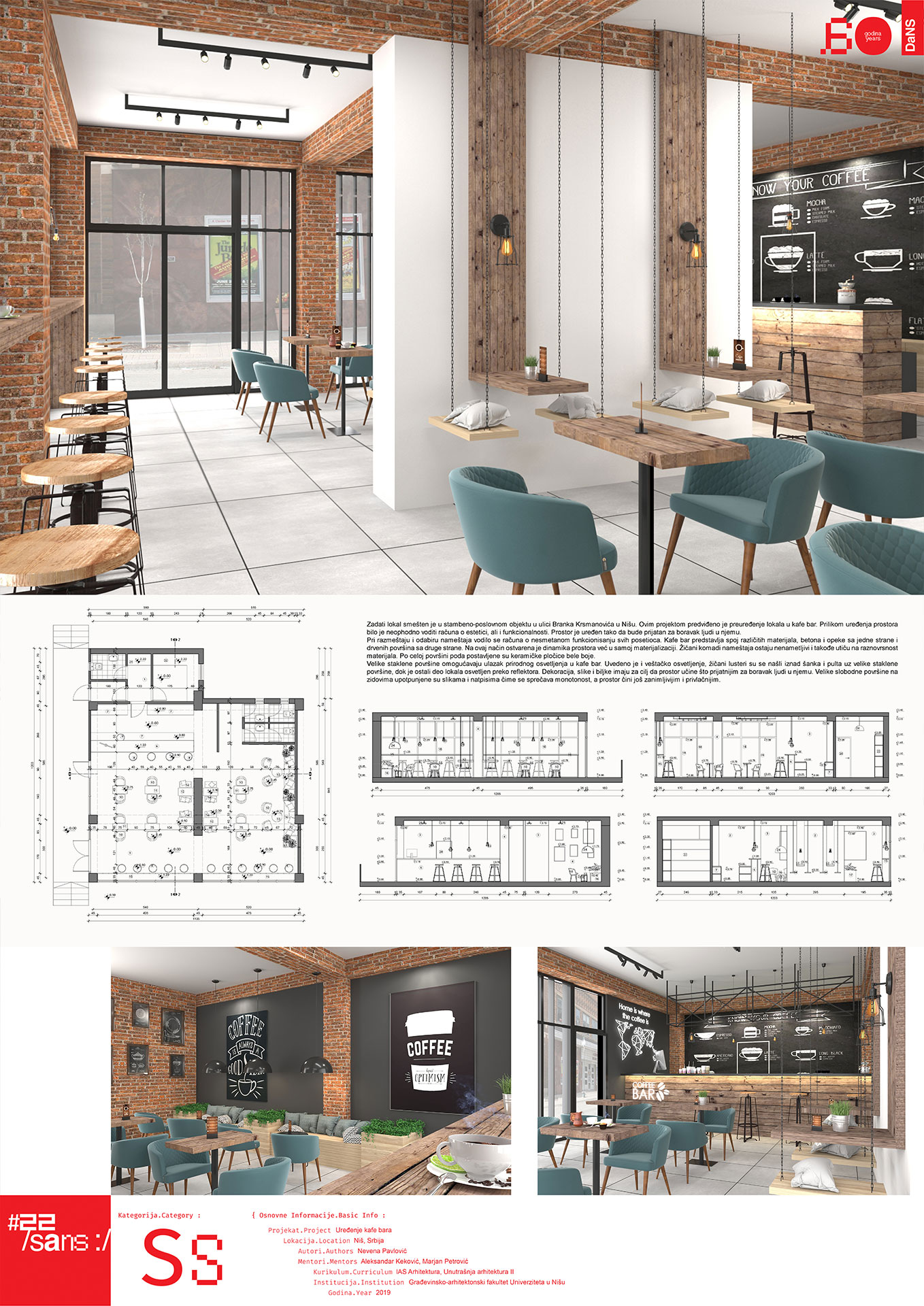 """<p class=""""naslov-br"""">ss21</p>Uređenje kafe bara // Caffe Bar Design"""