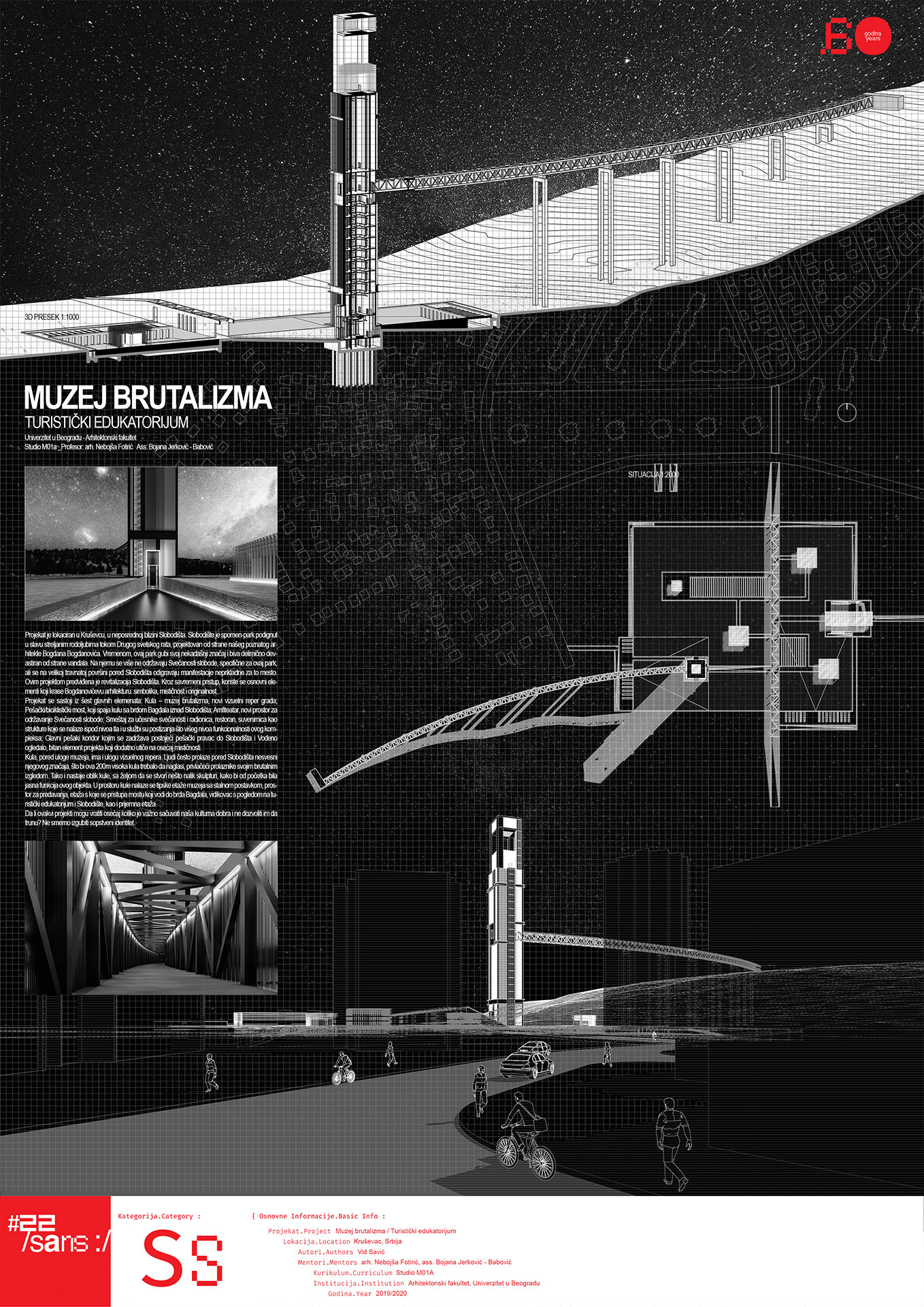 "<p class=""naslov-br"">ss32</p>Muzej brutalizma_Turistički edukatorijum // Museum of Brutalism_Touristic educator"