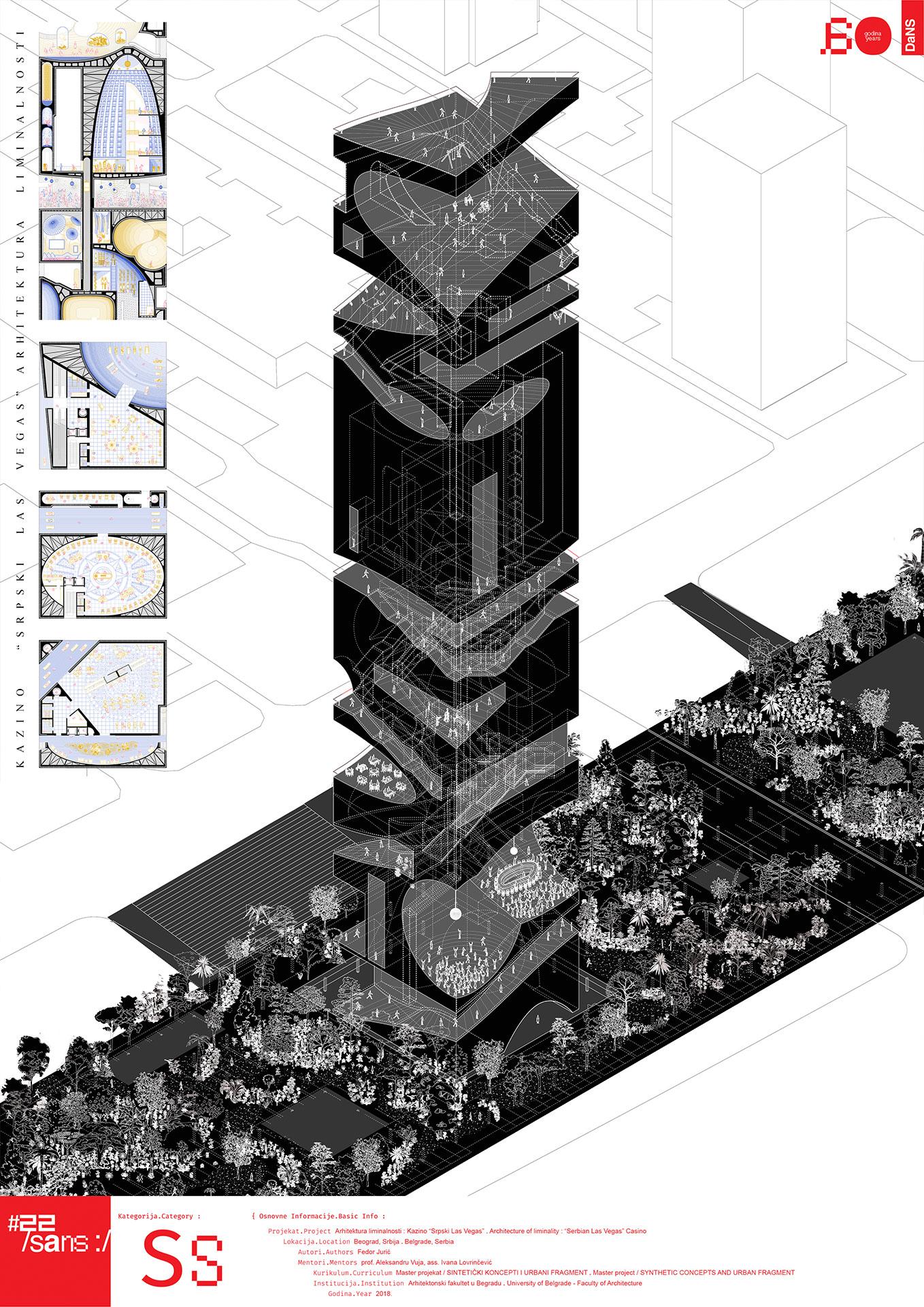 """<p class=""""naslov-br"""">ss36</p>Arhitektura liminalnosti : Kazino """"Srpski Las Vegas"""" // Architecture of Liminality : Casino """"Serbian Las Vegas"""""""