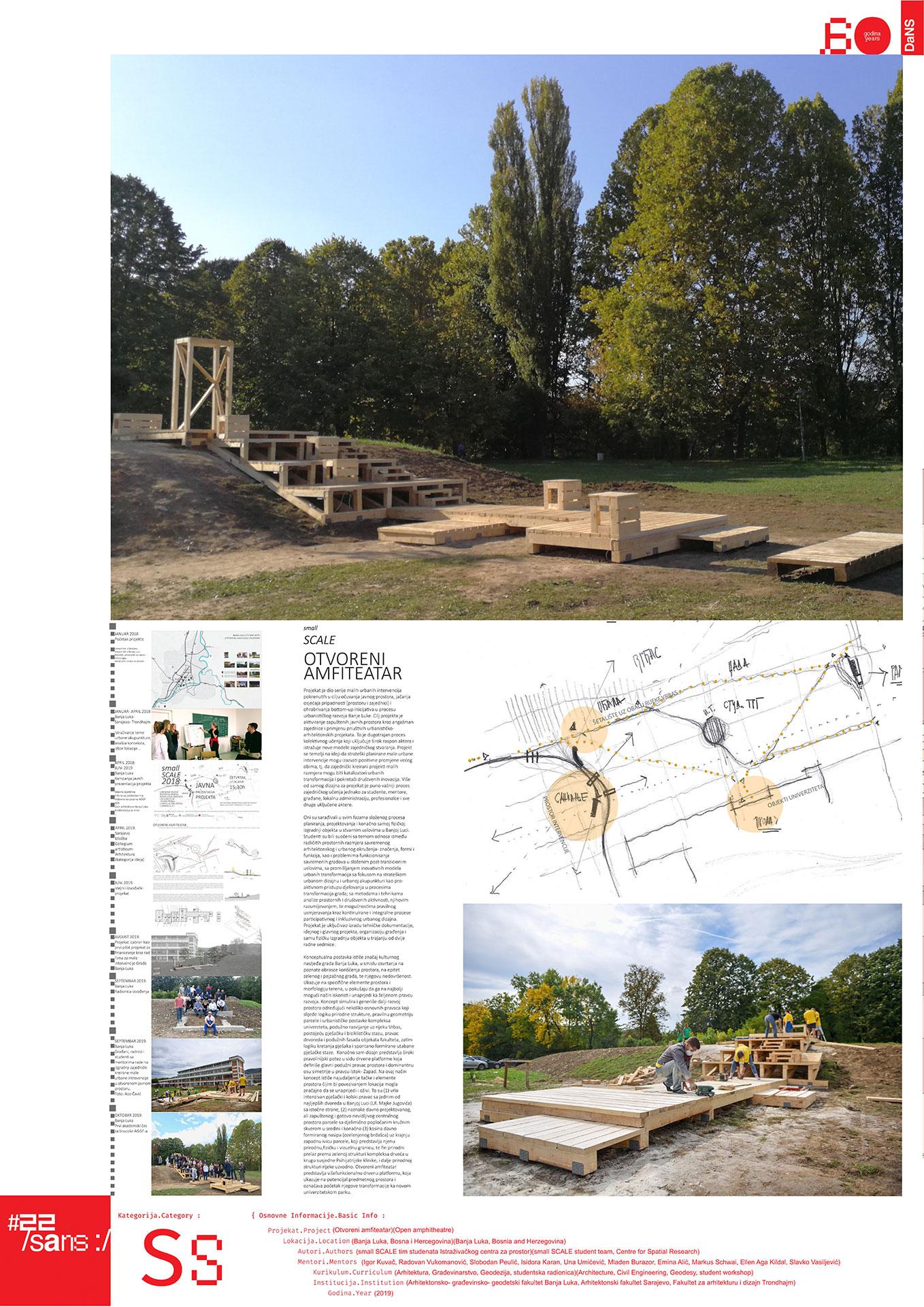 Otvoreni amfiteatar // Open amphitheater