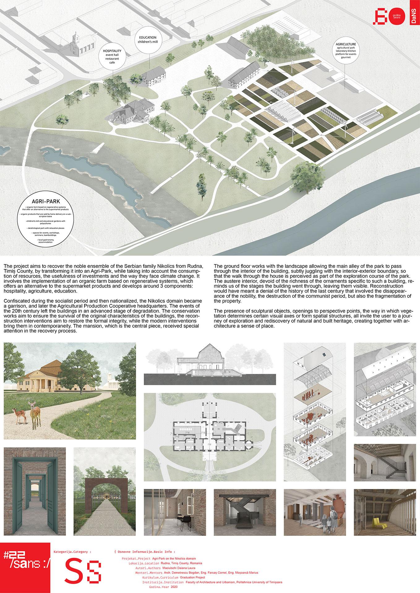 Agri park na oblasti Nikolics// Agri-Park on the Nikolics domain