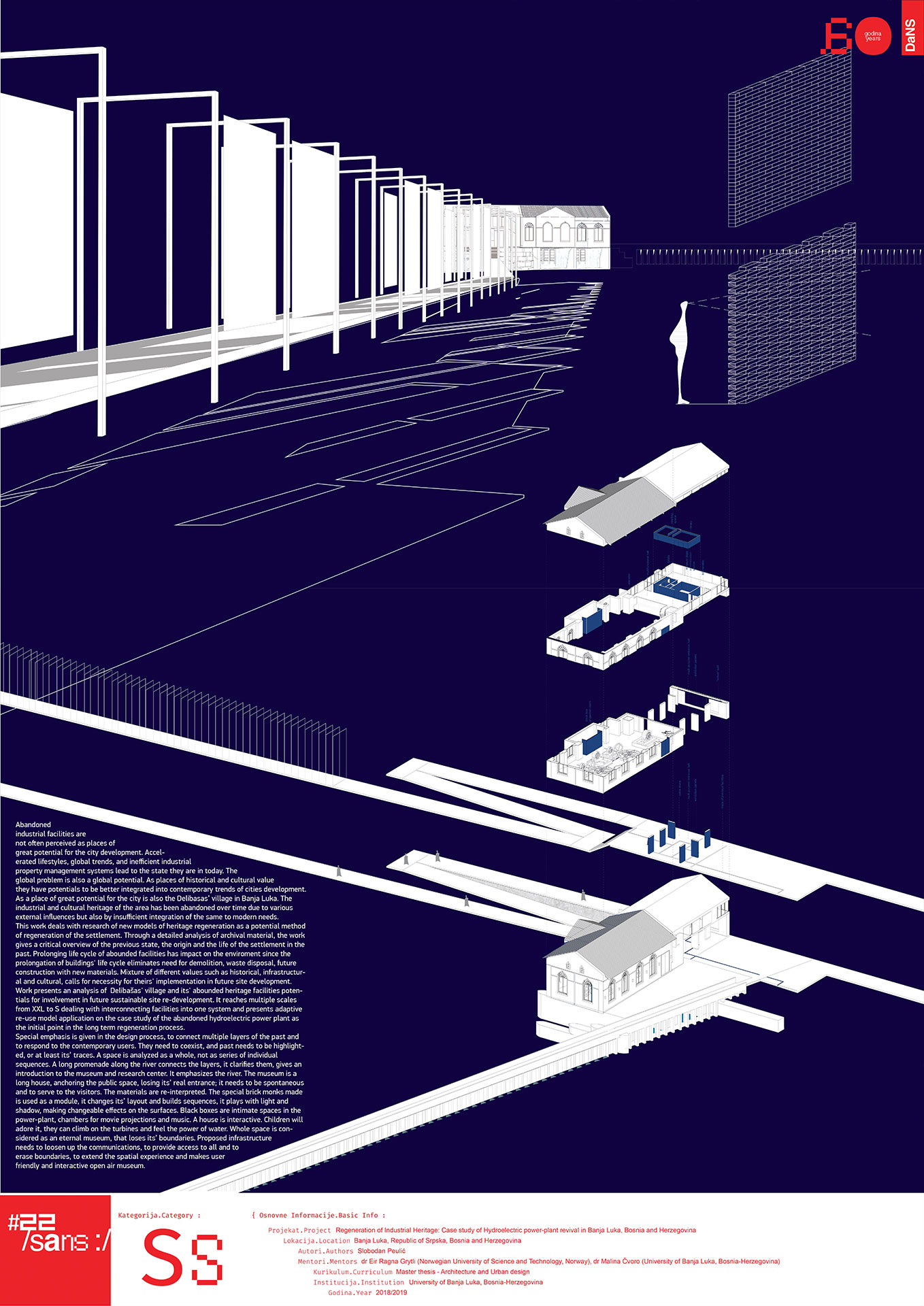 """<p class=""""naslov-br"""">ss52</p>Regeneracija industrijskog nasleđa: Na primeru revitalizacije hidroelektrične termoelektrane u Banja Luci, Bosna i Hercegovina // Regeneration of Industrial Heritage: Case study of Hydroelectric power-plant revival in Banja Luka, Bosnia and Herzegovina"""